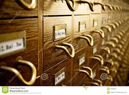 old library card catalog royalty free stock photography image