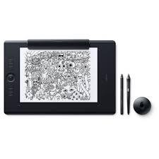 Tablette Graphique Wacom Intuos Pro Tablette Graphique Professionnelle Multi Touch Wacom Intuos Pro