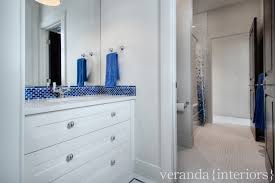 Bathroom With Two Separate Vanities by Jack And Jill Bathroom Design Ideas