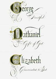 Name Style Design by Name Style 3 The Gilded Quill Calligraphy Pinterest