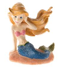 top fin mermaid aquarium ornament fish ornaments petsmart