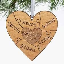 custom family ornaments gifts