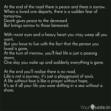 quote death is not the end shreyansh bothra quotes yourquote
