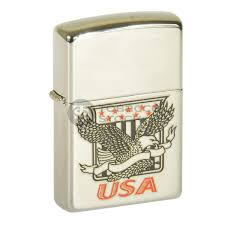 American Flag Zippo Butane Torches And Lighters Refillable For Cigars Wholesale