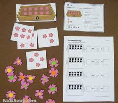 flower garden crafts activities lessons games for preschool and