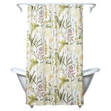 Botanical Shower Curtains Huntington Botanical Shower Curtain 70 X72 Green Yellow India