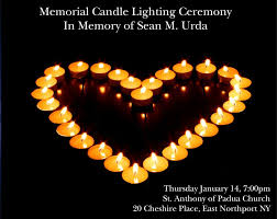 memorial candle urda memorial candle lighting ceremony