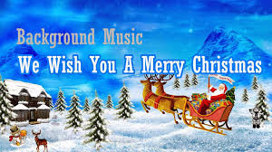 background music we wish you a merry christmas instrumental