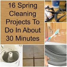 16 spring cleaning ideas to do in about 30 minutes how does she