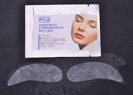 cosmetic tattoo numbing cream pcd embroidered eyebrows tattoo numb cream painless eyebrow mask