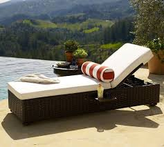 Home Decorators Patio Cushions Home Decorators Collection Sunbrella Black Outdoor Chaise Lounge