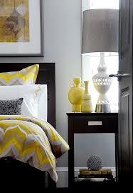 deco chambre jaune chambre jaune et gris