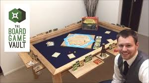 The Board Game Vault Table Video  YouTube - Board game table design