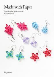 quilling earrings tutorial pdf free download diy paper quilling jewelry tutorial paper quilled flower earrings