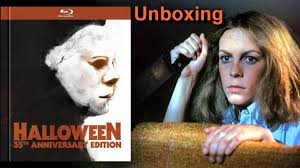 halloween 35th anniversary blu ray digibook unboxing 1978