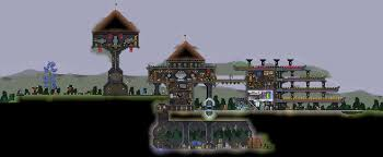 starbound houses our humble house imgur