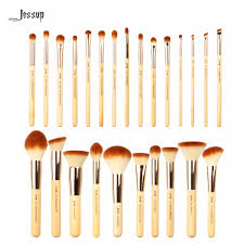 jessup 25pcs beauty bamboo professional makeup brushes set pincel