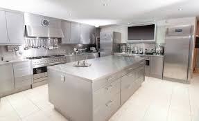 Stainless Steel Kitchens Cabinets by Kitchen Stainless Steel Kitchen Cabinets With Regard To