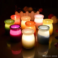 15 hours scented candles pudding jar candle with a variety of