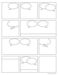 comic book templates free kids printable motivational comic and