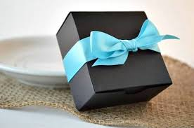 Blue Favor Boxes by The 5 Laws For Wedding Favor Boxes Emmaline Wedding