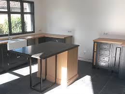cuisine ardoise et bois élégance bois artisan créateur cuisine salle de bain dressing