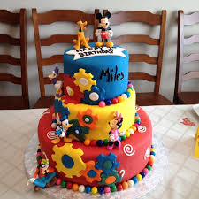 mickey mouse clubhouse birthday cake fomanda gasa