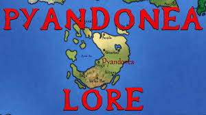 Map Of Nirn Pyandonea What Is It Like Elder Scrolls Lore Youtube