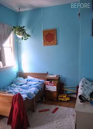 bedroom before and after before after bedroom makeover for three kids design sponge