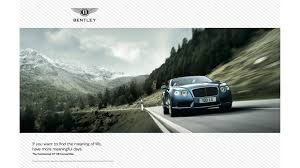 bentley motors factory tour experience bentley motors print ad