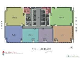 Office Space Floor Plan by Lower Floor Corporate Office Space For Lease In Fort Bonifacio
