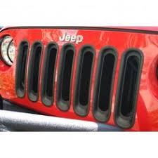 buy jeep wrangler parts buy billet grille insert black 07 16 jeep wrangler jk at