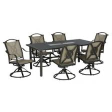 living accents rxac 37 set brooklyn patio dining set 7 pieces at