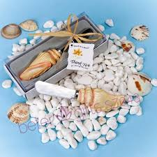 photo album supplies sea shell spreader favor christening party ideas beter sz048 baby