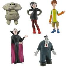 hotel transylvania cake toppers hotel transylvania 5 miniatures cake topper or figure comansi