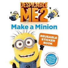 despicable 2 minion reusable sticker book paperback