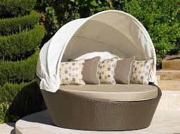 round outdoor daybed with canopy home designs insight outdoor