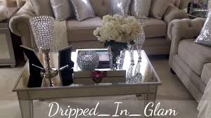 glam living room tour youtube