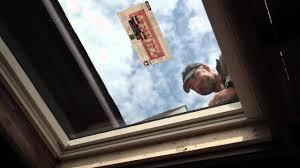 how to install a velux solar skylight youtube