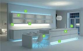 Kitchen Led Lighting Ideas Kitchen Under Cabinet Led Lighting Ideas Color Temperature Strips