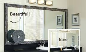 bathroom wall mirror frames large mirrored wall photo frames