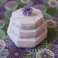 wedding cake gift boxes 3 tier origami wedding cake mini gift box
