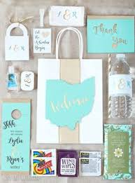 wedding guest bags wedding wednesday what we put in our wedding welcome bags gift
