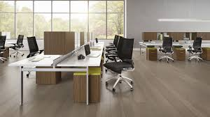 Contemporary Laminate Flooring Workstation Desk Wooden Laminate Contemporary Staks