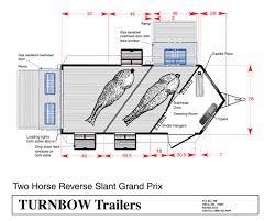 horse trailer living quarter floor plans floor plans for a living quarter horse trailer house plans