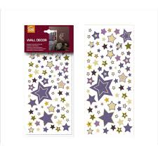 homeshop18 home decor home decor line coloured stars 41100 wall decals homeshop18