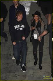 thanksgiving tie ed sheeran the game dinner after thanksgiving with jennifer