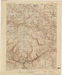 Map Of Colorado Springs Co by