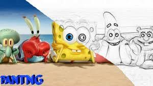 spongebob coloring book spongebob squarepants coloring book for kids youtube