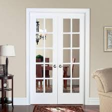 narrow french doors exterior page online door decoration smooth 10 lite hollow core primed pine prehung interior french door 468338 the home depot